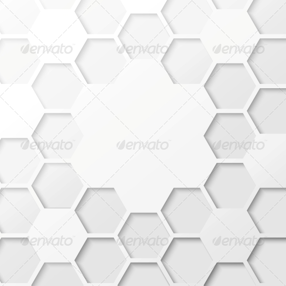 GraphicRiver Abstract Hexagon Background 4224107