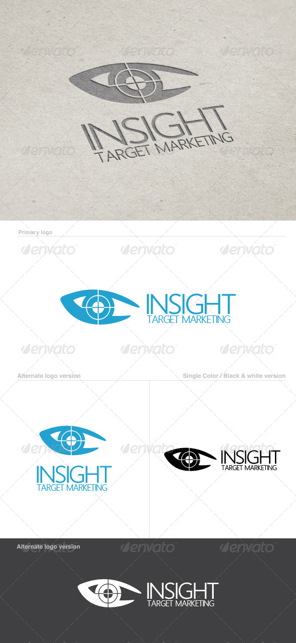 iSight Logo Template - Vector Abstract