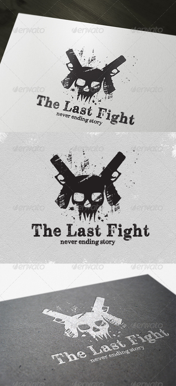 Game The Last Fight Logo