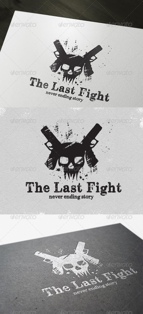 GraphicRiver Game The Last Fight Logo 4224268