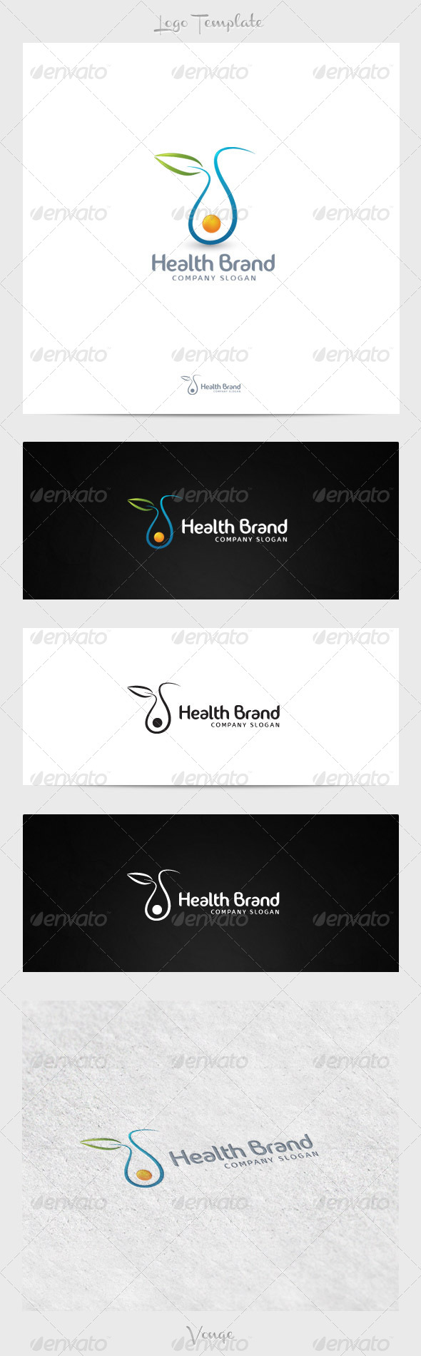 Health Brand - Nature Logo Templates