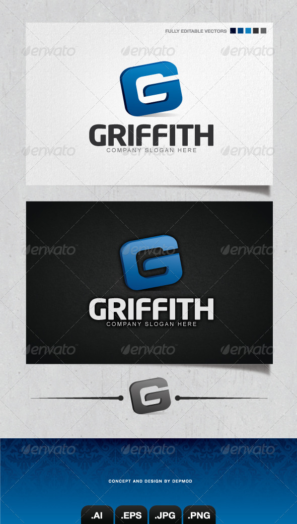 GraphicRiver Griffith Logo 4224920