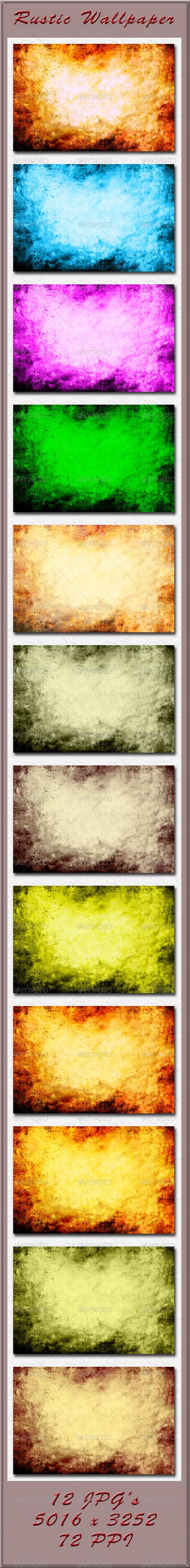 GraphicRiver Rustic Wallpaper 4225028
