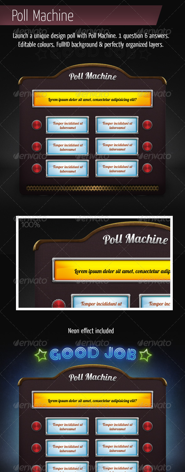 GraphicRiver Poll Machine 4225544