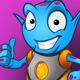 Alien Mascot Zog