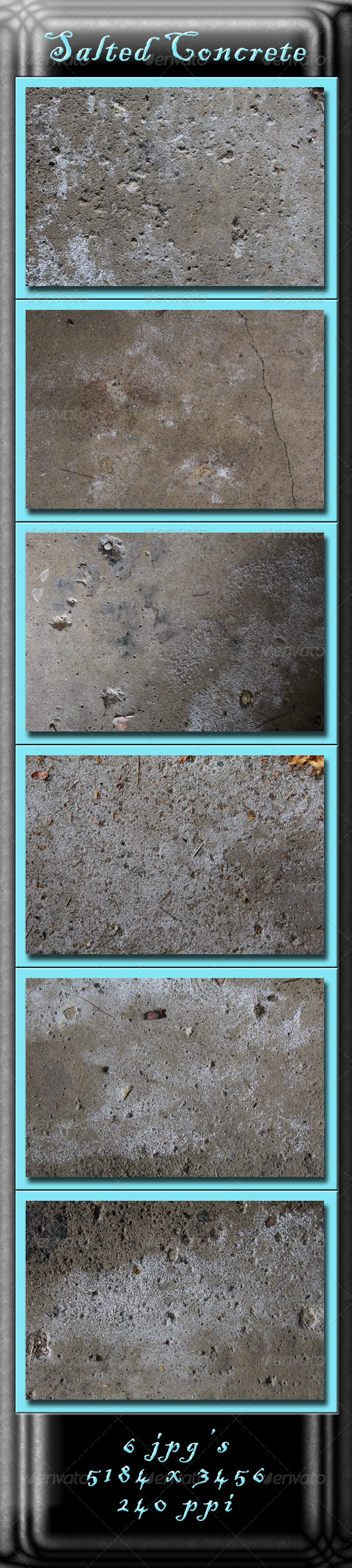 Salted Concrete