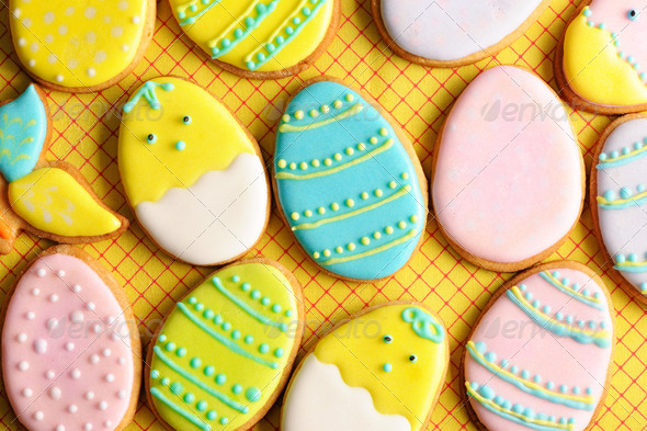 PhotoDune Easter homemade gingerbread cookie 4229697