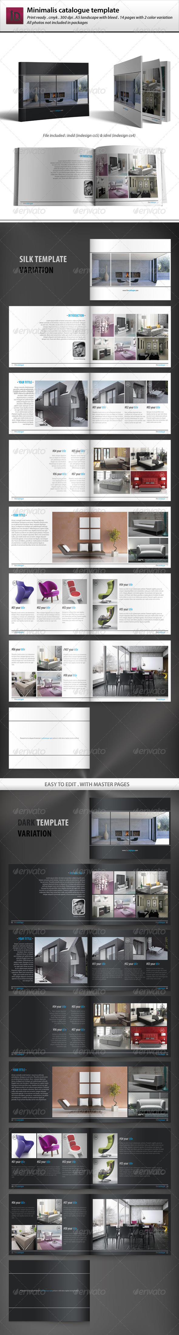 Minimalis Catalogue Template