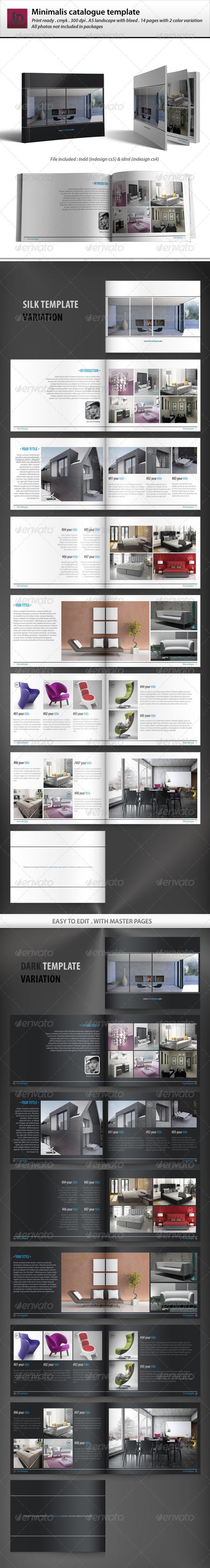 GraphicRiver Minimalis Catalogue Template 4230310