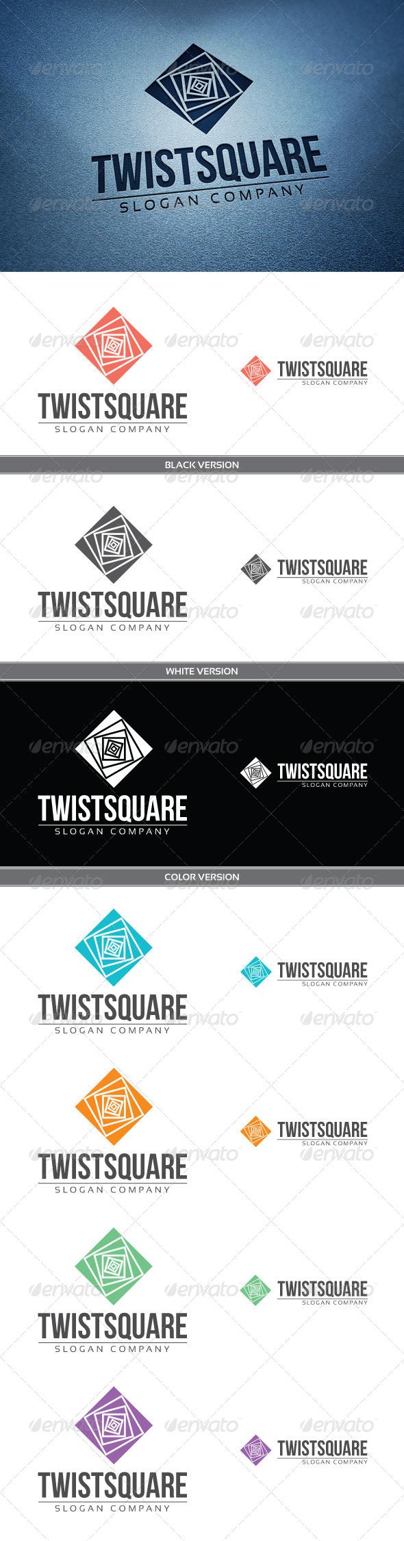 GraphicRiver Twist Square 4120609
