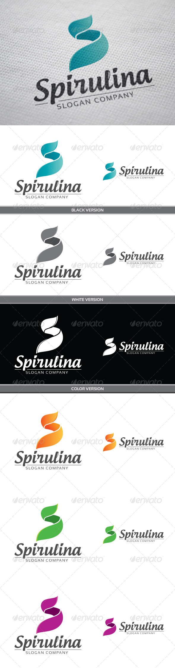 GraphicRiver Spirulina 4123320