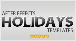 Holidays AE Templates