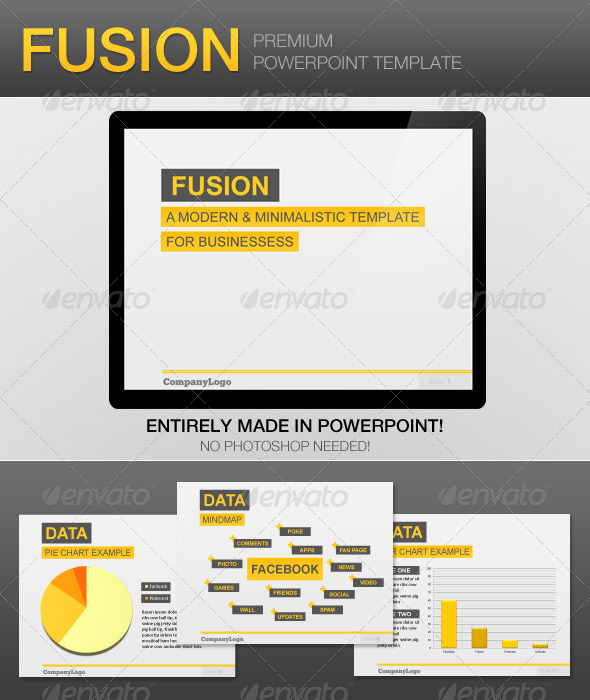 GraphicRiver Fusion PowerPoint Template 4232710