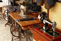 Old Fashioned Foot Powered Sewing Machines - PhotoDune Item for Sale
