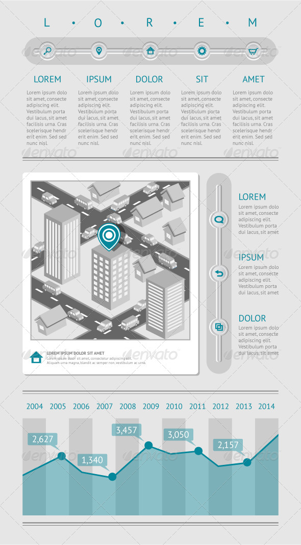 GraphicRiver Infographics and Web Elements 4233334