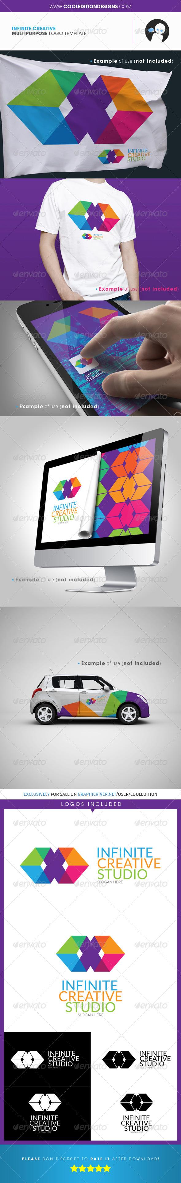 GraphicRiver Infinite Creative Multipurpose Logo Template 4116819