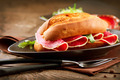 Sandwich with Salami - PhotoDune Item for Sale