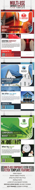 GraphicRiver Corporate Flyer v2 4054562