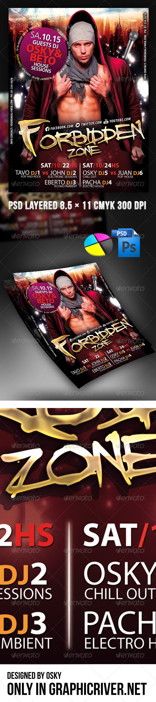 GraphicRiver Forbidden Party 4011057