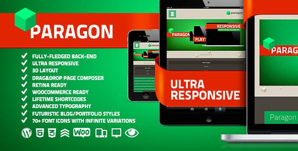 Paragon | Responsive Portfolio WP Theme