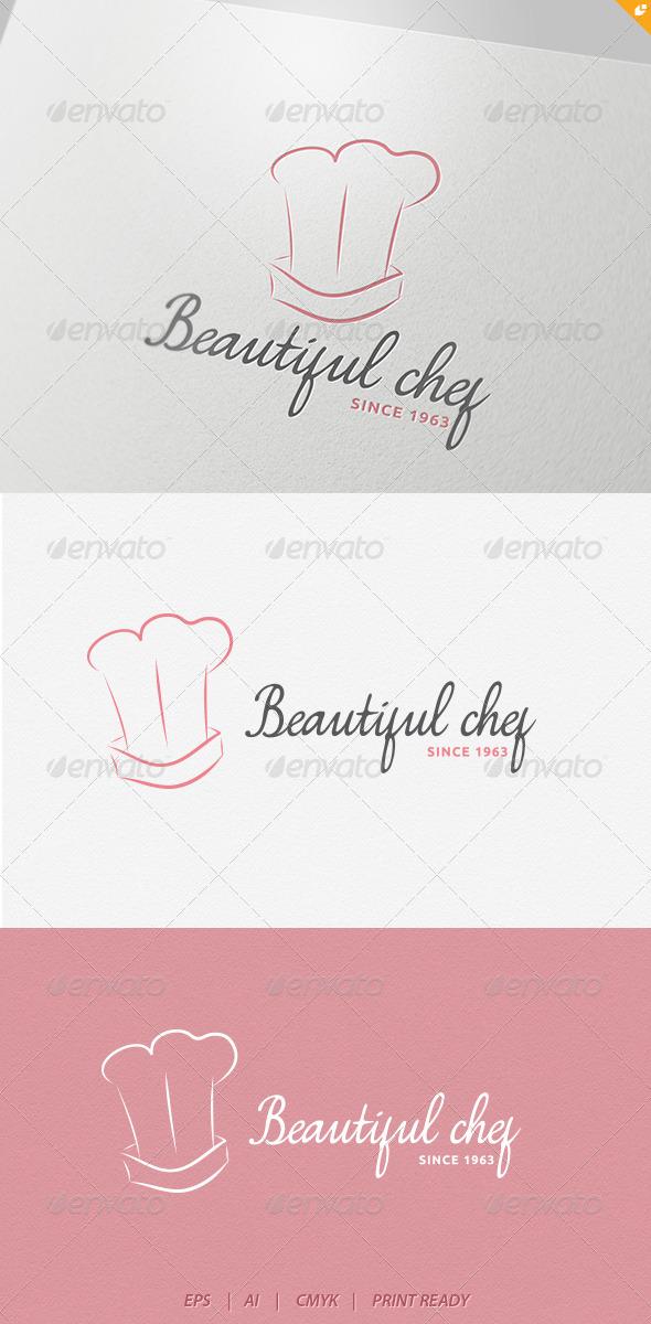 GraphicRiver Beautiful Chef Logo 4234302