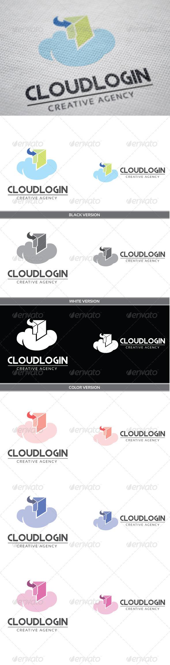 GraphicRiver Cloud Login 4136058