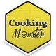 Cooking Monster – Responsive Tumblr Theme  Free Download