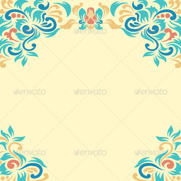 GraphicRiver Ornament Floral 4234698