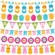 Easter Garlands Set - GraphicRiver Item for Sale