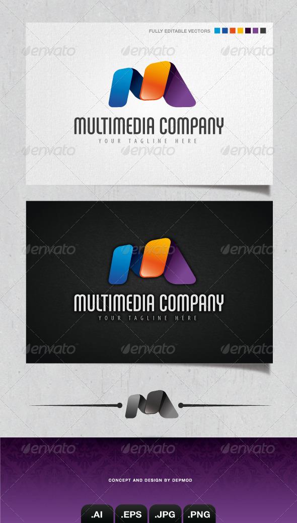 GraphicRiver Multimedia Company Logo 4133897