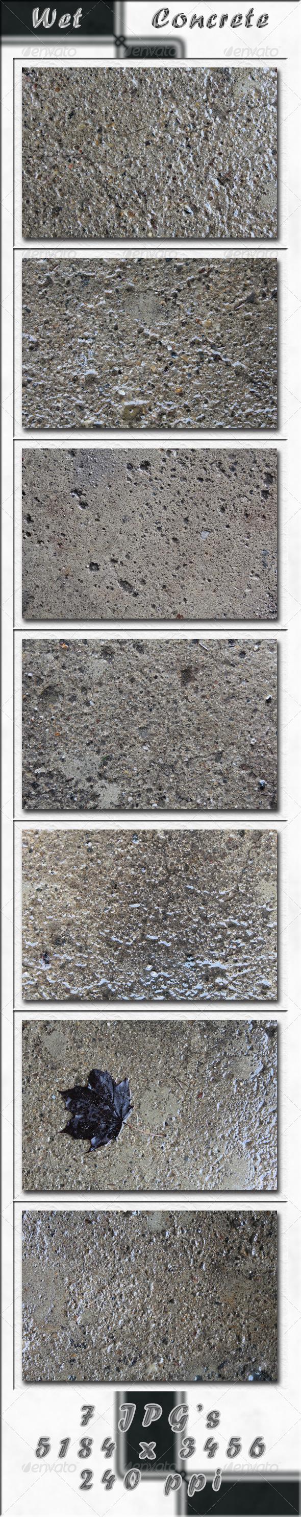 GraphicRiver Wet Concrete 4235688