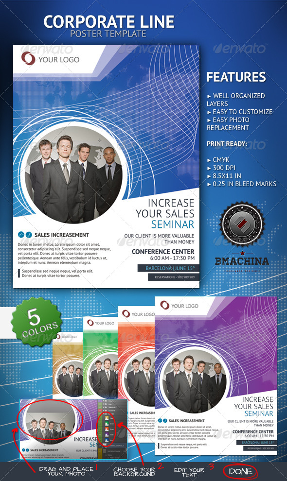 GraphicRiver Increase Your Sales Poster Template 4235689
