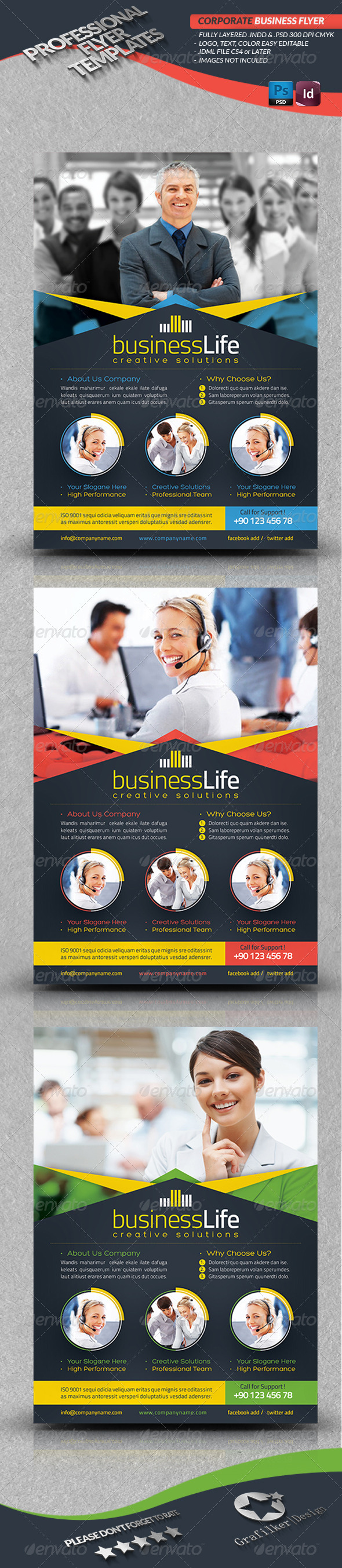 GraphicRiver Corporate Business Flyer 4050286