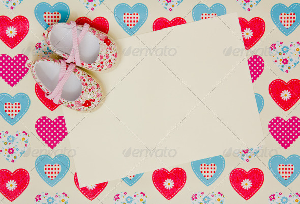 PhotoDune baby shower invite 4236516