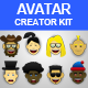 Avatar Creator Kit - GraphicRiver Item for Sale