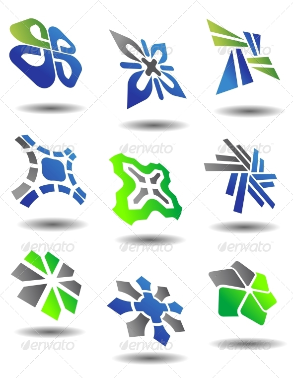 GraphicRiver Set of Abstract Symbols 4237001