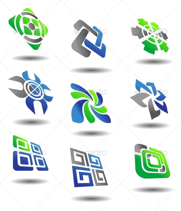 GraphicRiver Set of Abstract Symbols 4237002