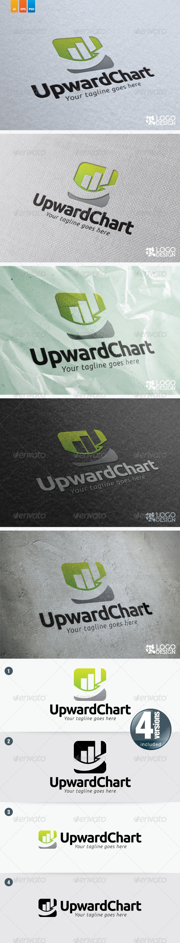 UpwardChart - Symbols Logo Templates