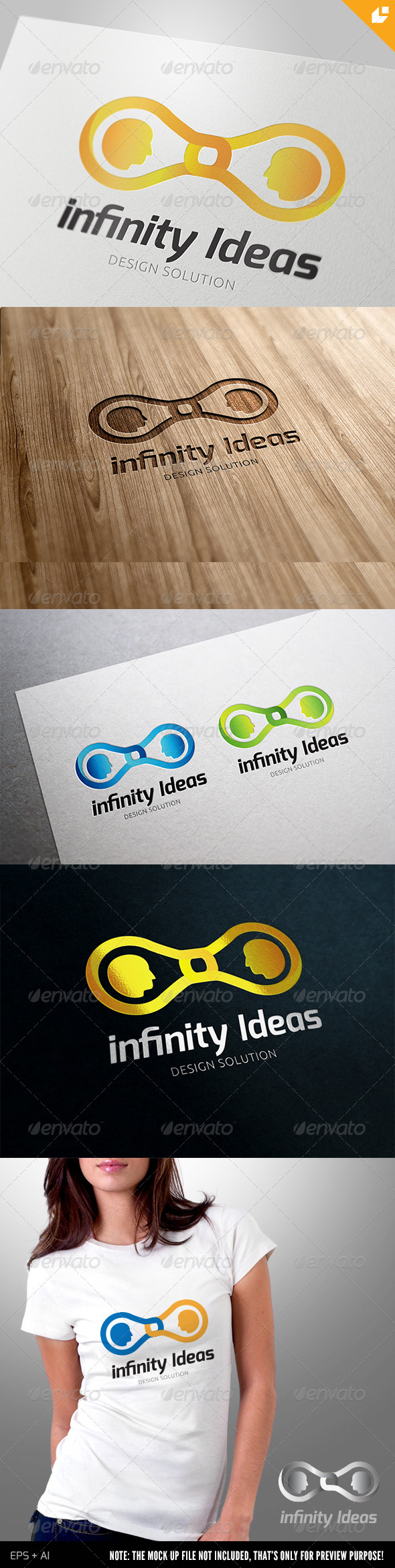 GraphicRiver Infinity ideas Logo 4237919