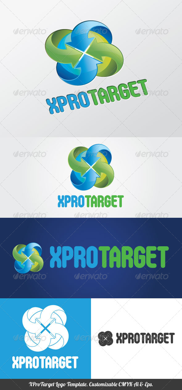 GraphicRiver XProTarget Logo Template 4113951