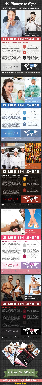GraphicRiver Multipurpose Flyer 4051780