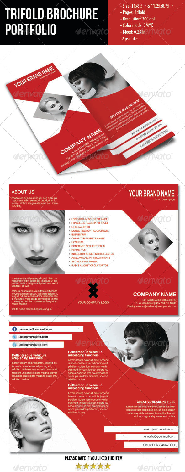 GraphicRiver Trifold Brochure-2 4017499