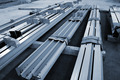 new welded metal beams - PhotoDune Item for Sale