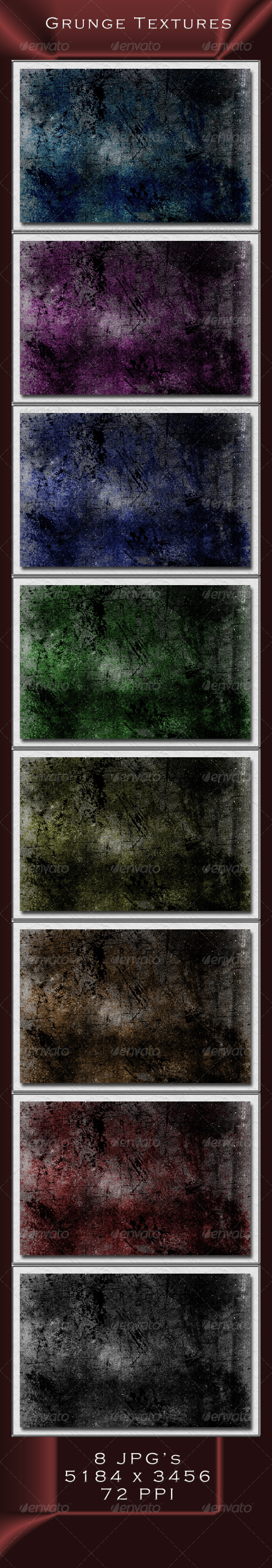 GraphicRiver Grunge Textures 4239190