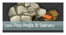 Low-poly-props-scenery