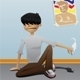 Lazy Boy With Cigarette - GraphicRiver Item for Sale