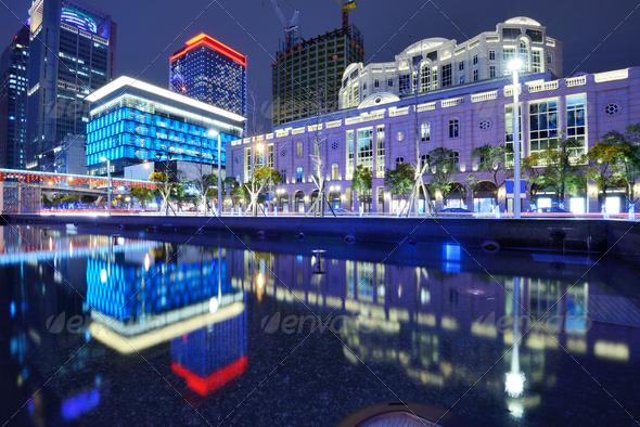 Taipei Cityscape - Stock Photo - Images