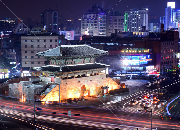 Seoul Gate - Stock Photo - Images