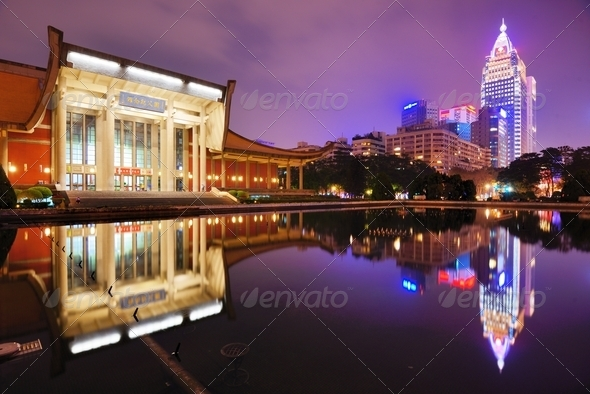 Sun Yat-Sen Memorial Hall - Stock Photo - Images