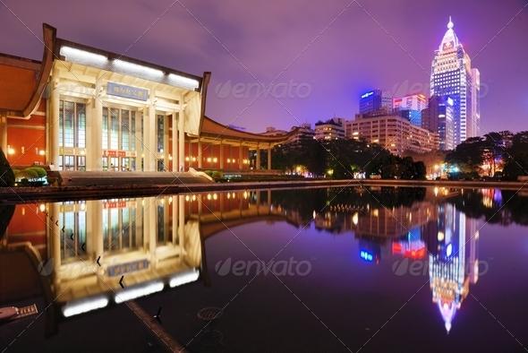 Sun Yat-Sen Memorial Hall - Stock Photo - Images